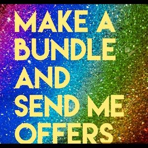 Create a Bundle and Make Me an Offer! 💕😊🌷
